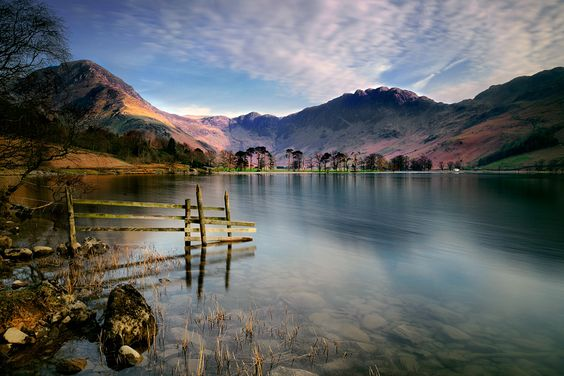 Buttermere Lake, Lake District National Park, Cumbria.